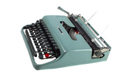 Portable typewriter Royalty Free Stock Photo