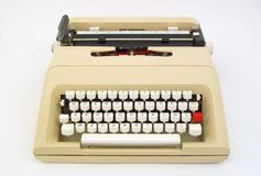 Portable typewriter Royalty Free Stock Photography