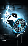 Portable ventilator Stock Photography