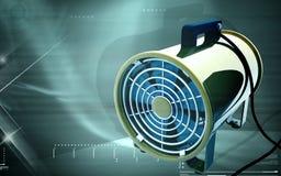 Portable ventilator. Digital illustration of Portable ventilator in colour background Royalty Free Stock Image