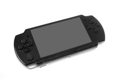 Portable video game Stock Photo
