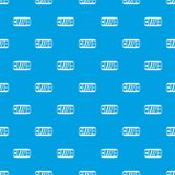Portable video game console pattern seamless blue Royalty Free Stock Photos
