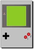 Portable videogame. Illustration of a portable videogame Royalty Free Stock Photos