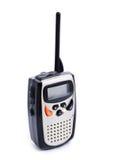Portable walkie talkie radio. On white background Royalty Free Stock Photo