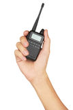 Portable walkie-talkie radio Royalty Free Stock Photo