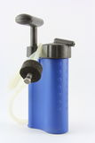 Portable Water filter. A portable water filter to be used when camping etc Royalty Free Stock Images