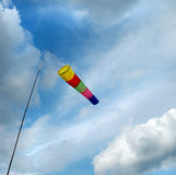 Portable wind indicator Stock Photography