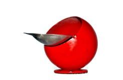 Portacenere rosso Fotografie Stock Libere da Diritti