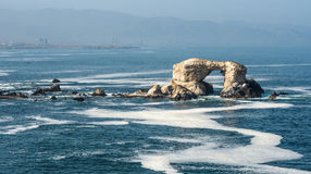 Portada & x28;Arch& x29; Rock Formation, Chile Stock Image