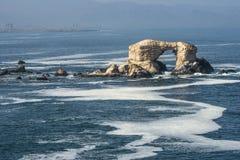 Portada Rock Formation, Antofagasta, Chile. Portada (Arch) Rock Formation, Chilean Coastline, La Portada National Reserve, Antofagasta, Chile Stock Photography