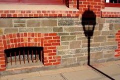 Portadelaide-Lampe u. Bogen Lizenzfreie Stockfotos