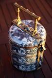 Portador asiático tradicional del alimento Imágenes de archivo libres de regalías