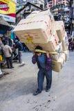 Portador da carga em darjeeling Fotos de Stock