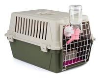 Portador del animal doméstico para el tranportation Foto de archivo