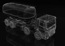 Portador del cemento del cargo ilustración del vector