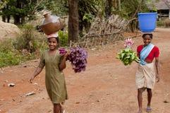 Portadores de agua Foto de archivo libre de regalías