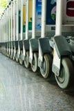 Portadores de equipaje en fila Imagen de archivo libre de regalías