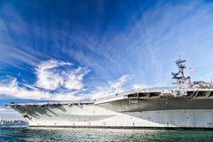 Portaerei intermedi di USS Fotografia Stock