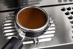 The portafilter coffee Stock Photo