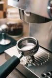 Portafilter del café Fotos de archivo libres de regalías