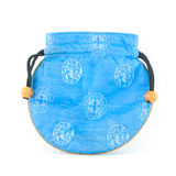 Portafoglio cinese o borsa Fotografia Stock