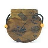 Portafoglio cinese o borsa Fotografie Stock