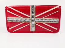 Portafoglio della bandiera Fotografie Stock