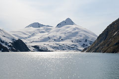 Portage Glacier Stock Photo