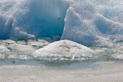 Portage Glacier Stock Images