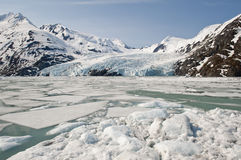 Portage Glacier Royalty Free Stock Photo
