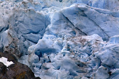Portage Glacier Abstract Alaska Stock Image