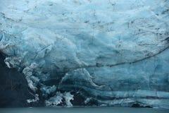 Portage glacier ice Stock Photo