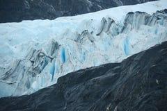 Portage glacier ice Royalty Free Stock Image