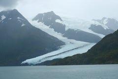Portage glacier ice Stock Photos