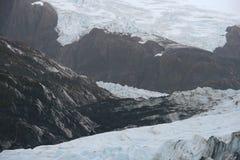 Portage glacier ice Stock Photography