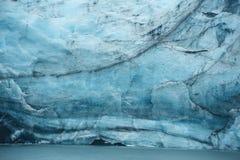Portage glacier ice Royalty Free Stock Photos