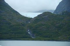 Portage glacier ice Stock Image
