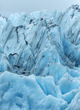 Portage Glacier Ice Formation Royalty Free Stock Photography