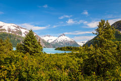 Portage Glacier- Kenai Peninsula- Chugach National Forest- AK Royalty Free Stock Photos