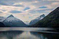 Portage Glacier- Kenai Peninsula- Chugach National Forest- AK Stock Photography