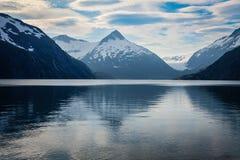 Portage Glacier- Kenai Peninsula- Chugach National Forest- AK Royalty Free Stock Photography
