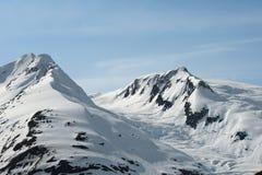 Portage Gletscher Stockbilder