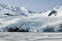 Portage Gletscher Stockfoto