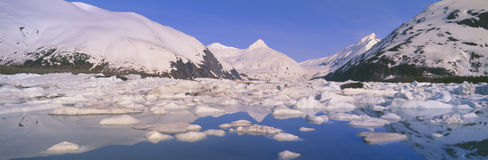 Portage Lake Stock Photo