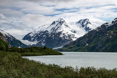 Portage Lake, Glaciers Royalty Free Stock Image