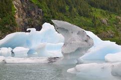 Portage See-Eisberge Stockfotos