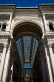 Portail avant de Vittorio Emanuele de puits Verticale, aucune personnes photos libres de droits