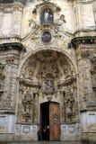 Portail baroque Photo libre de droits