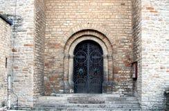 Portail d'église Image libre de droits