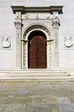 Portail de cathédrale Photos stock